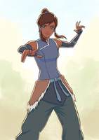 Korra 2 by Renegun