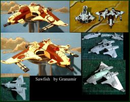 Tau fighter by Granamir by Granamir