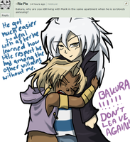 Ask #6, DON'T LEAVE ME BAKURA! by AskMalikBlishtar