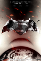 Batman V Superman: Dawn Of Justice FINAL Poster by SuperDude001
