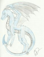 Dark Frost Dragon by Mordecai1423