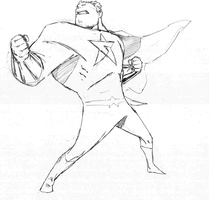 Captain Awesome striking a pose! by demonplague