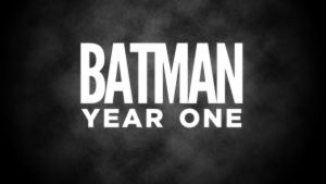 Batman: Year One Title Card by garrettross