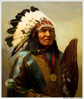 HE DOG - Oglala by wendelin