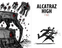 Cover Design A for Alcatraz High by BobbyRubio