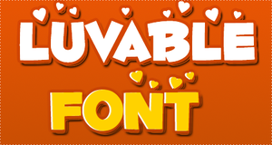 Luvable FONT by HeyHelleen