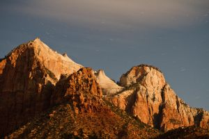 USA, Zion NP - Moonshine by Modi1985