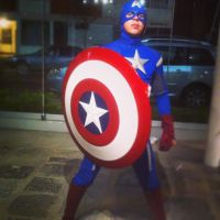 Captain America Cosplay by Pako-X