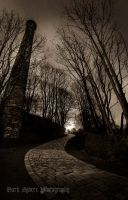 The old mill crossing at Black Brook in Calderdale by jasonthe5150