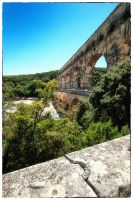 Pont du Gard 2 by calimer00
