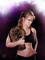 Ronda Rousey by wild7even