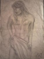 male model sketch 2 by tonez2