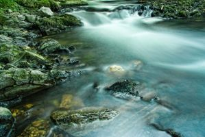 Mystical river by Anupthra