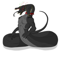 Egg Hatched - Cerberus Snake - SOLD by ShadowInkAdopts