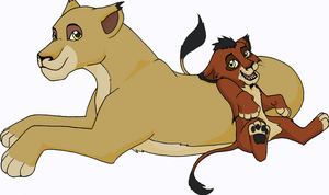 Sikia and Mwana by TheMiles