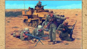 3RD REICH TROOPS Soldiers DAK by PanzerBob