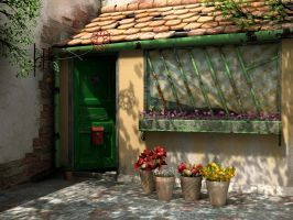 flower shop by gbrgraphix