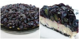 Blueberry Cheesecake by Kitteh-Pawz