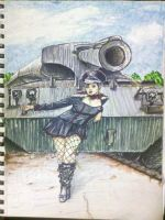 Tank Girl by jimcrilley
