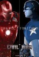 Marvel's Civil War Poster by Enoch16