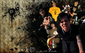 Tom Delonge wall by juliobrandon