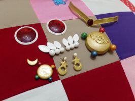 Sailor Moon Crystal Accessories by KyoudaiCosband