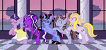 Purple Unicorn Party by BeckieRGB