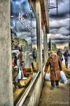 Old man HDR by cLuGraphy