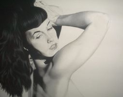 Bettie Page by objectivereflective