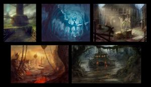 environments studies by dleoblack