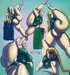Cammy leg poses full color by modaw