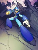 maverick hunter x by Xeromander