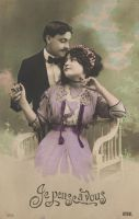 Vintage couple XI by MementoMori-stock