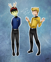 'Captain, please cease being illogical.' by xMashykax
