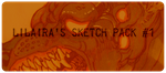 LiLaiRa's Sketch Pack #1 by LiLaiRa