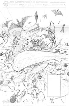 Joe kubert assignment two penciling by westwolf270