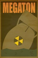 Minimalist Megaton by cloakrunner