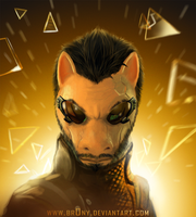 Deus Ex: Pony Revolution by Br0ny