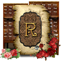 Red Roses | Secret Garden Library by TheAngeldove