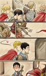 Merthur superextramini comic by Slashpalooza