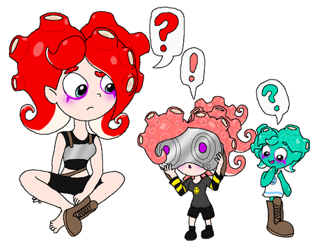 Julie - Try on Octoling Goggles by Rotommowtom