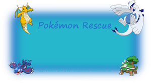 Pokemon Rescue Template by Hopera