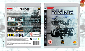 Metal Gear Solid RISING Cover by NurBoyXVI