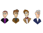Doctor Who - From Chris to Peter by Chikinugget
