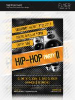 Nightclub Event Flyer Template by artnook