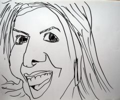 Ivete Sangalo caricature by MauricioKanno