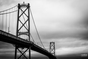 MacDonald Bridge by steverankin