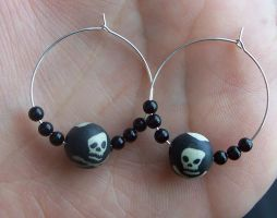 Pirate Earrings by BastsBoutique