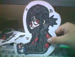 Itachi paperchild by DeidaraGS