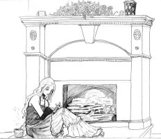fireplace by urs